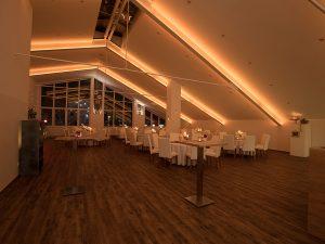 Eventlocation Festsaal für Firmenfeier, Familienfeier, Weihnachtsfeier, Hochzeit, Hochzeitslocation. Die Manufaktur. Individuelle Eventlocation Veranstaltungsraum für Köln - Bonn by METZ