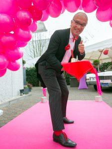 Eventlocation / Hochzeitslocation MANUFAKTUR präsentiert auf der Hochzeitsmesse 2017-06, Butler Bernhardt, Köln - Bonn