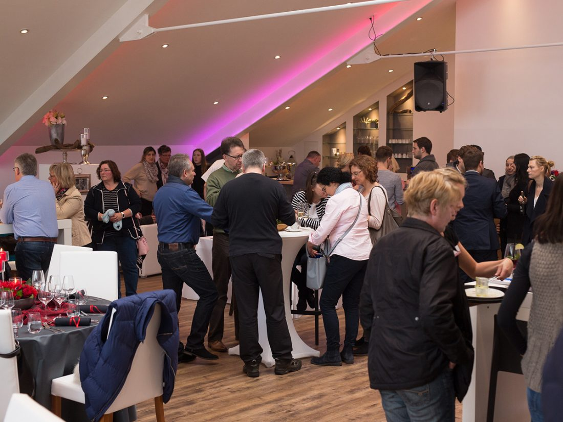 Eventlocation / Hochzeitslocation MANUFAKTUR präsentiert auf der Hochzeitsmesse 2017-12, Catering, Köln - Bonn