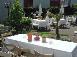 Hochzeitslocation. Sonnenterrasse. Die Manufaktur. Individuelle Eventlocation Veranstaltungsraum für Köln - Bonn by METZ