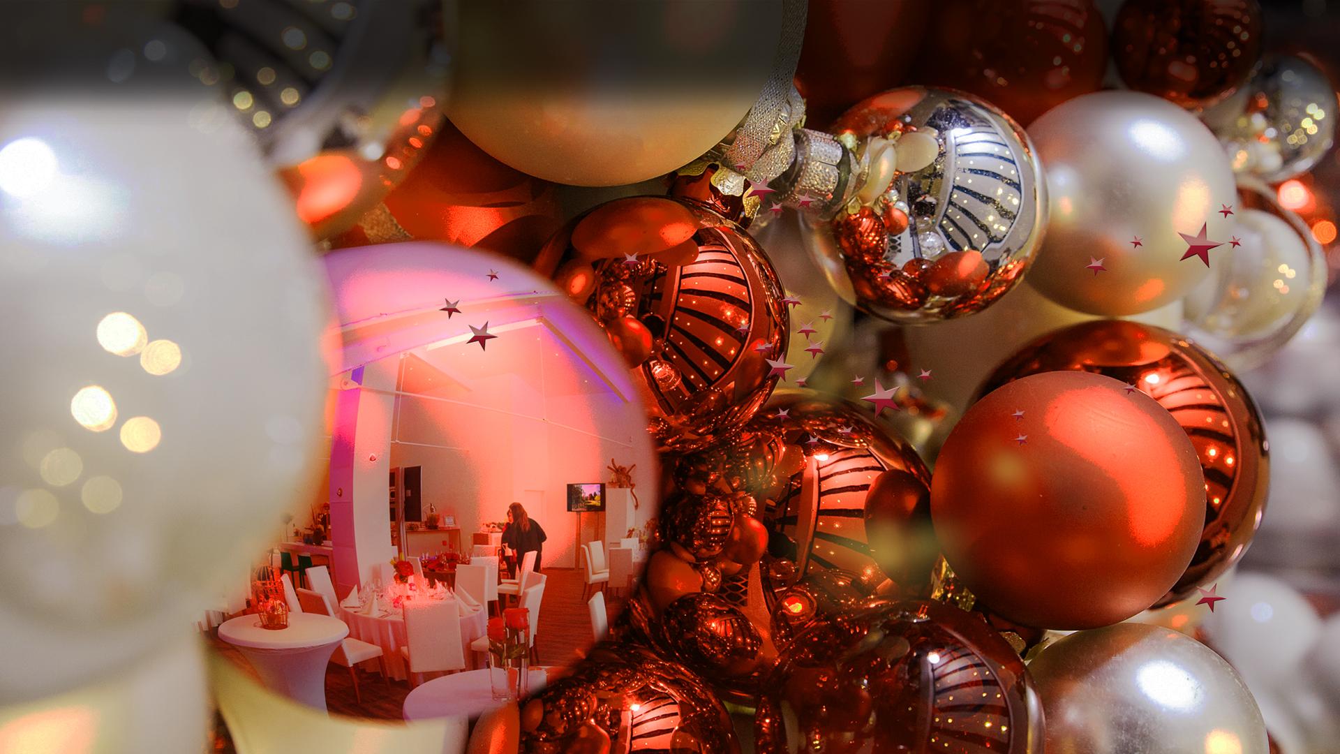 Weihnachtsfeiern in der Manufaktur feiern